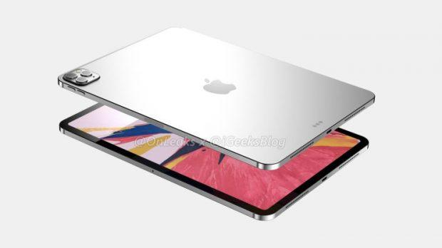 iPad Pro 2020: kết xuất lần đầu tiên với cảm biến ảnh ba 2