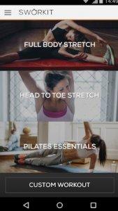 Kéo dài & Pilates Sworkit - Tập luyện cho bất cứ ai