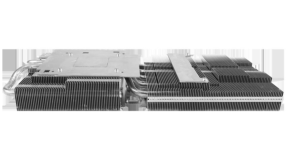 ASUS sửa lại chiếc RX 5700 và RX 5700 XT Loạt TUF chơi Game Card 2