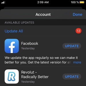 Cách cập nhật thủ công ứng dụng iPhone trong iOS 13 4
