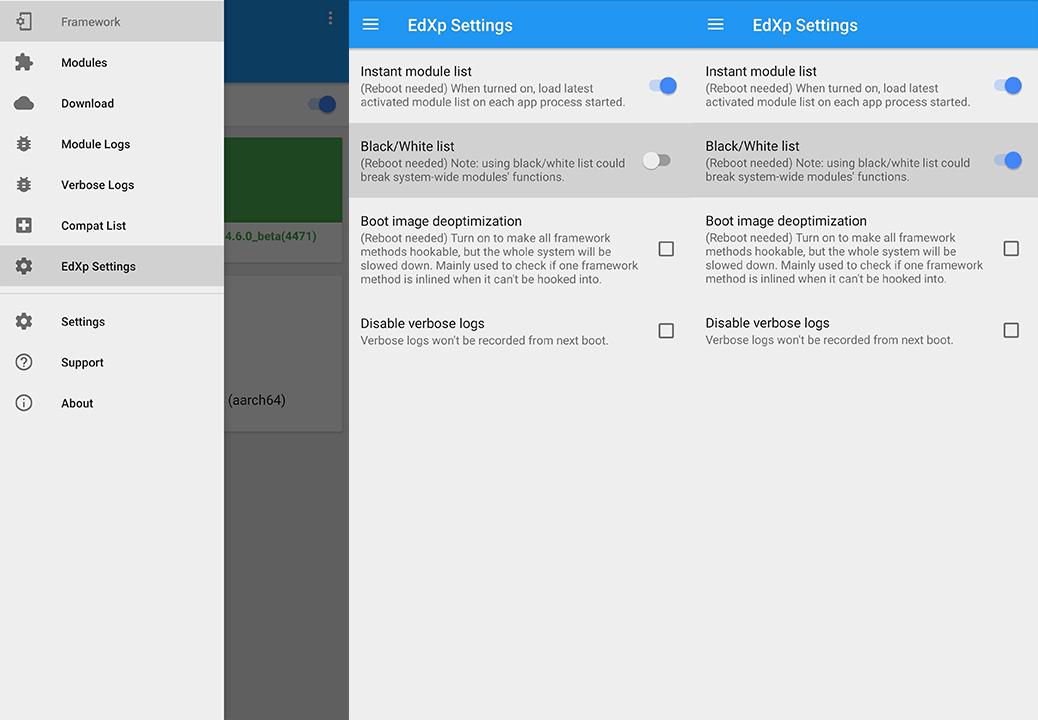 Làm cho Android vượt qua SafetyNet với cài đặt EdXposed