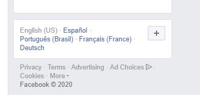 Cách thay đổi ngôn ngữ Facebook 2