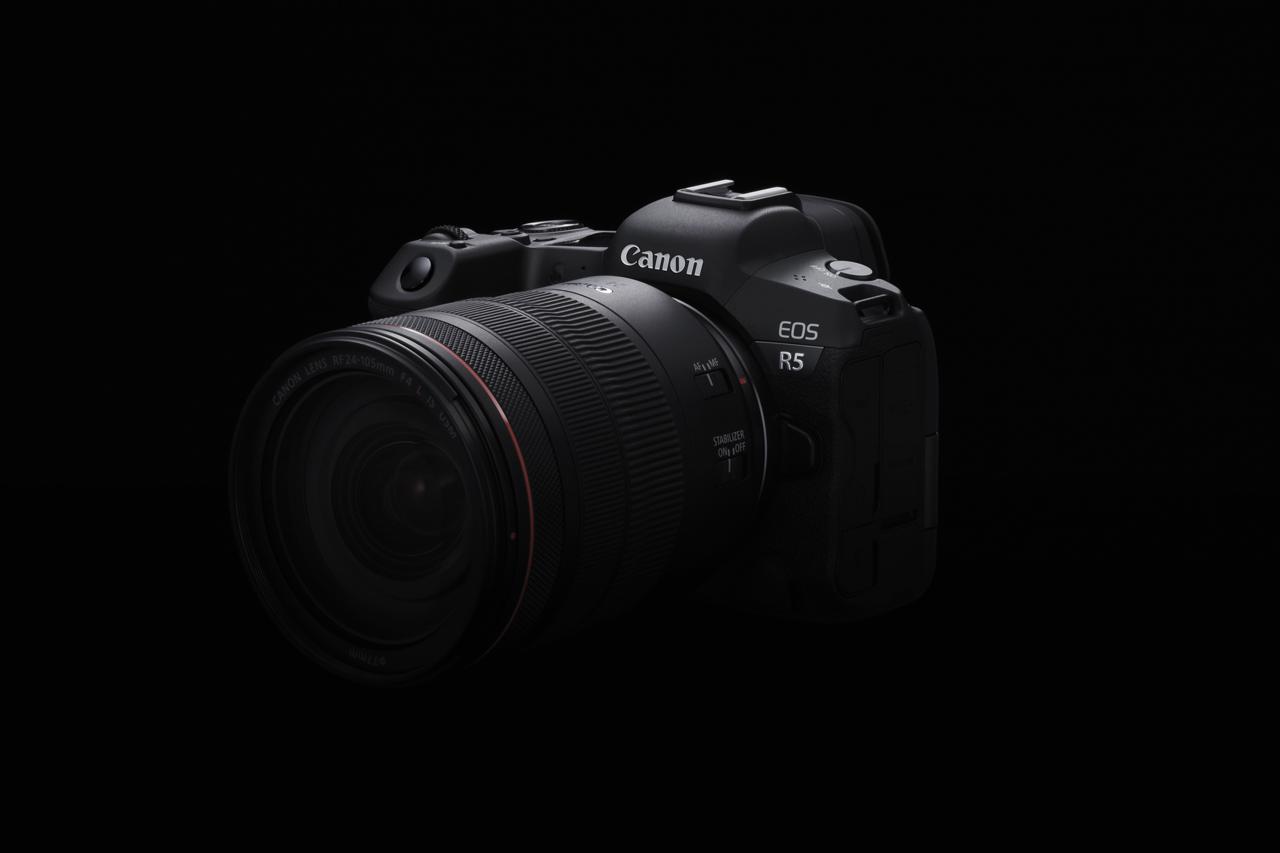 Canon công bố phát triển máy ảnh không gương lật full-frame EOS R5 2