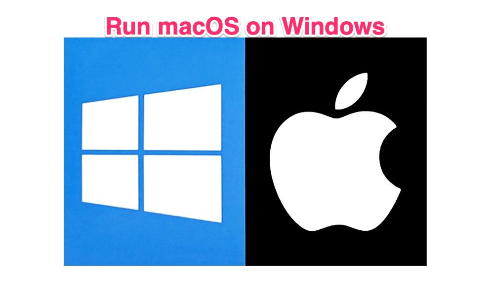 Chạy ứng dụng Mac trên Windows máy tính 1