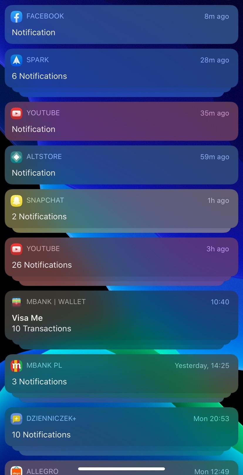 ColourNotifs làm cho biểu ngữ thông báo trên iOS nhiều màu sắc hơn 1