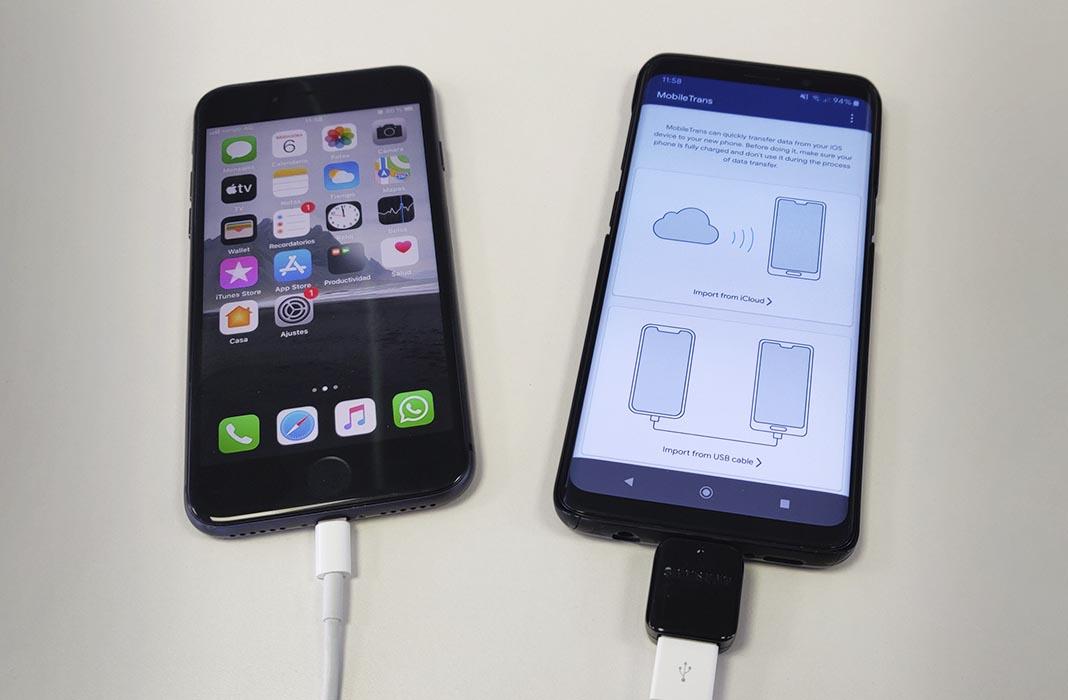 Dễ dàng di chuyển từ iOS sang Android bằng MobileTrans từ Wondershare 3