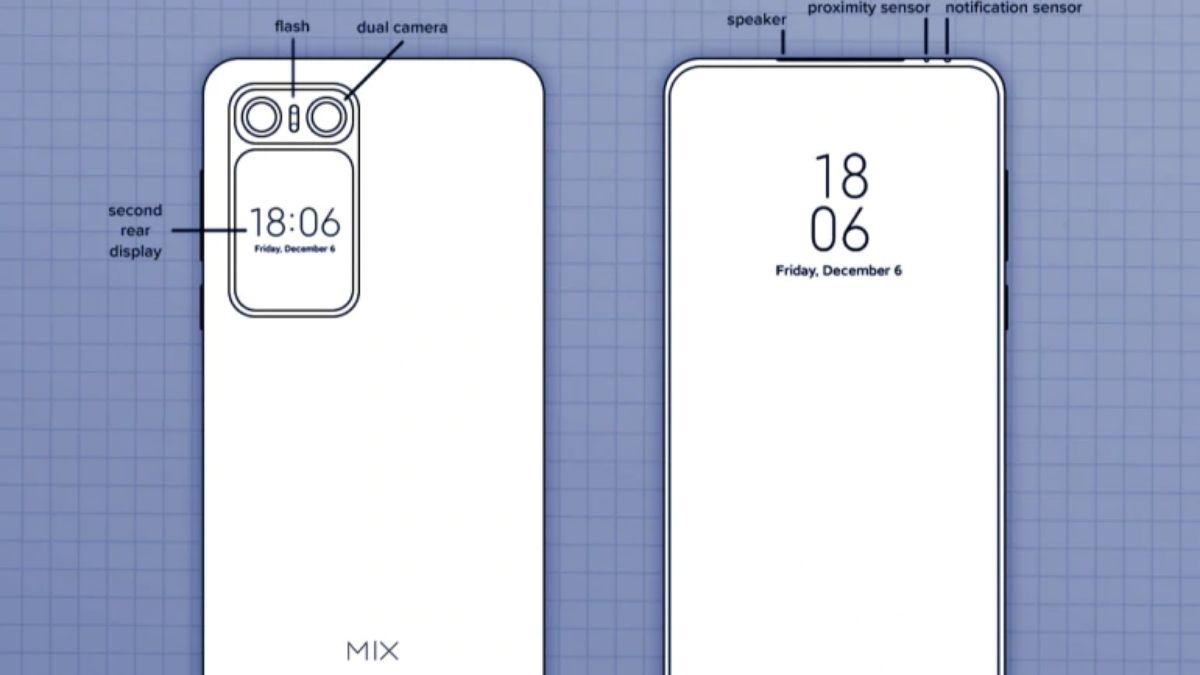 Hình ảnh bằng sáng chế của Xiaomi Mi MIX 2020 giới thiệu thiết kế và camera khác nhau của nó 5