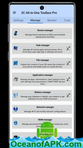 Hộp công cụ đa năng 3C v2.1.9b [Pro] [SAP]  Tải xuống miễn phí APK 7