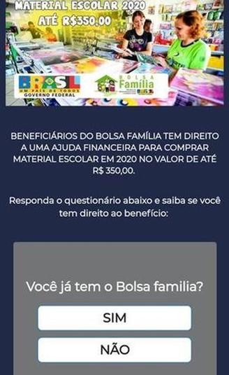 Lừa đảo WhatsApp mới tập trung vào những người thụ hưởng Bolsa Família 1