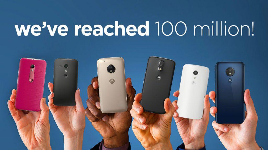 Motorola đã bán được hơn 100 triệu điện thoại thông minh Moto G series 2