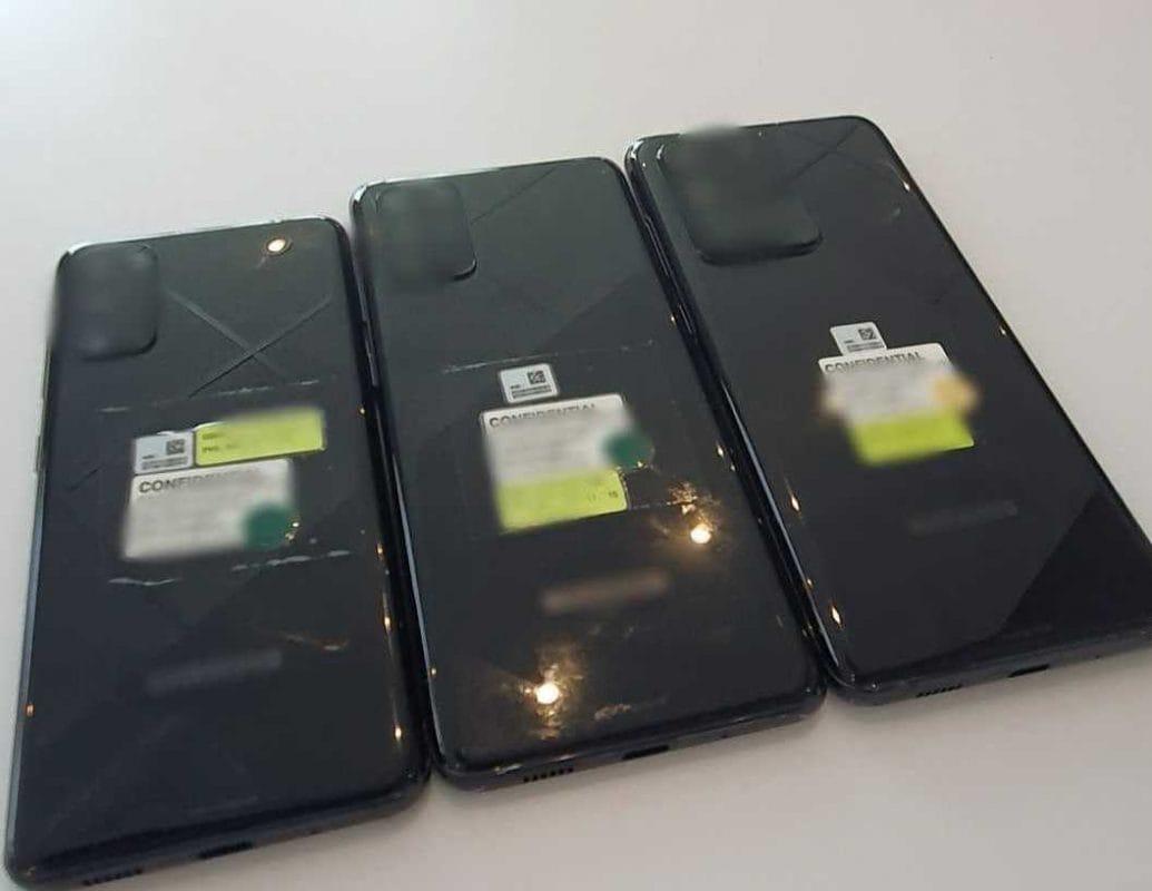 Rò rỉ một so sánh đầu tiên giữa mặt sau của ba biến thể của Samsung Galaxy S20 (ảnh) 2
