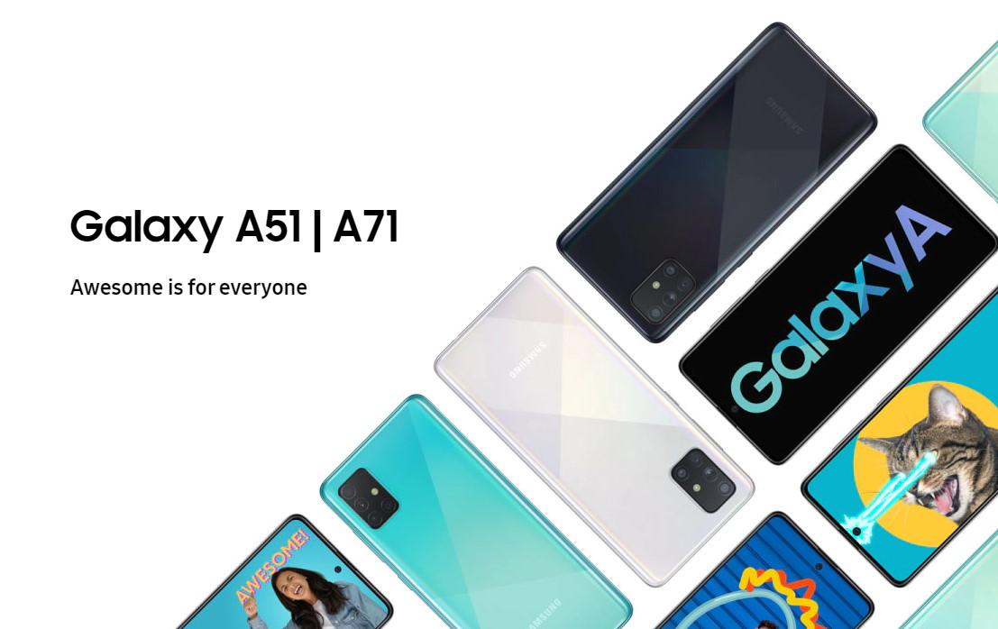 Samsung Galaxy A51 và A71 Đặt hàng trước để bắt đầu 3 Tháng Hai; Với giá khởi điểm là 1299 RM 2