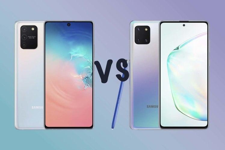 Samsung Galaxy S10 Lite vs Galaxy Note  10 Lite: Sự khác biệt là gì? 1