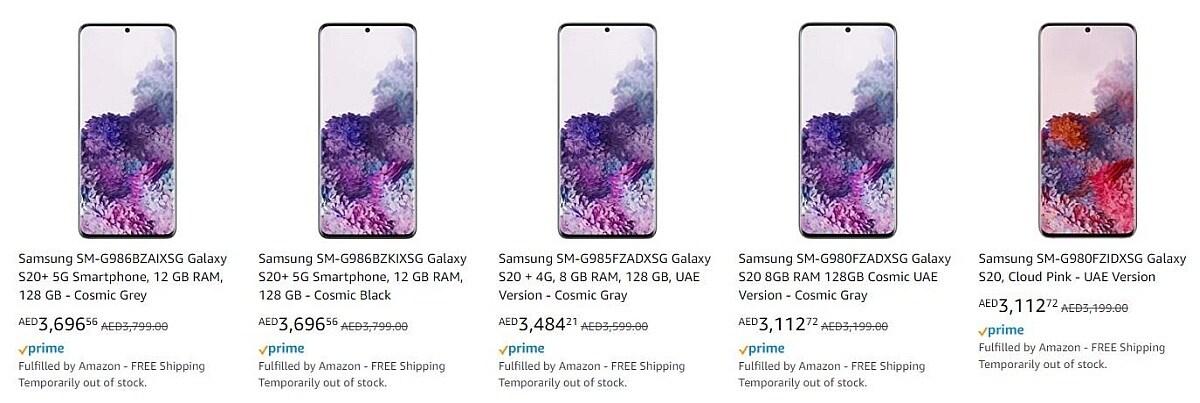 Samsung Galaxy S20, Galaxy Z Flip Rò rỉ Giá Mẹo, Thông số kỹ thuật, Gói bán lẻ và hơn thế nữa 1