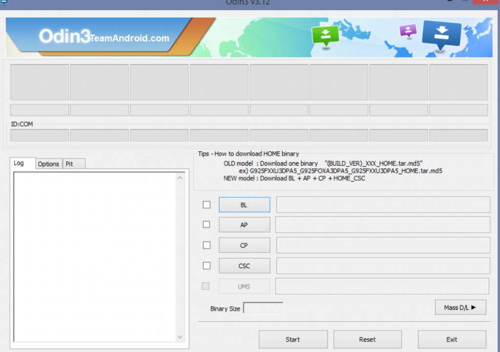 Samsung Odin v3.13.1 (2020) Tải xuống miễn phí cho Windows máy tính 1