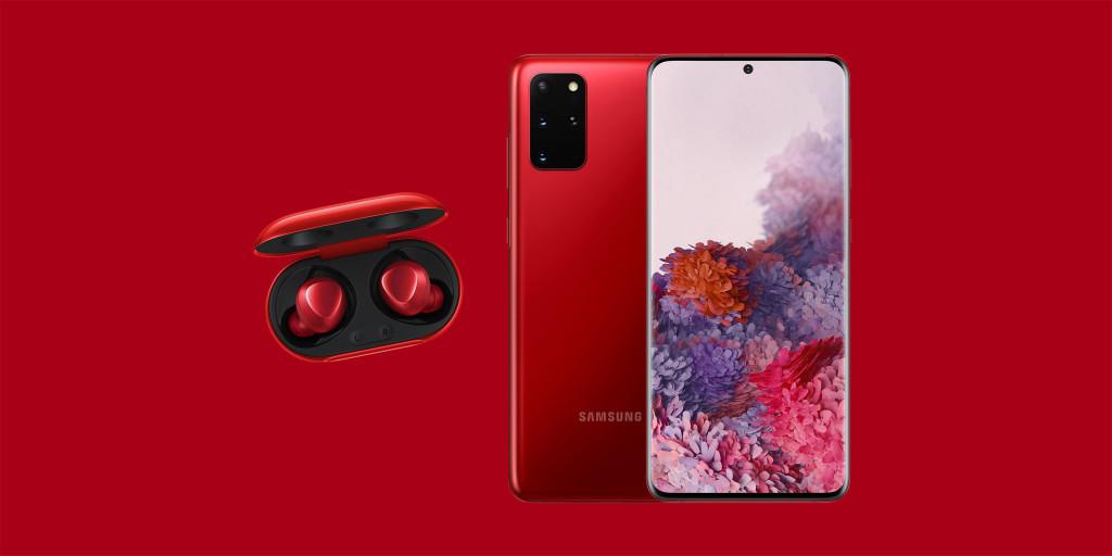 Samsung cho Galaxy Màu S20 + 'Jennie Red' tại Hàn Quốc