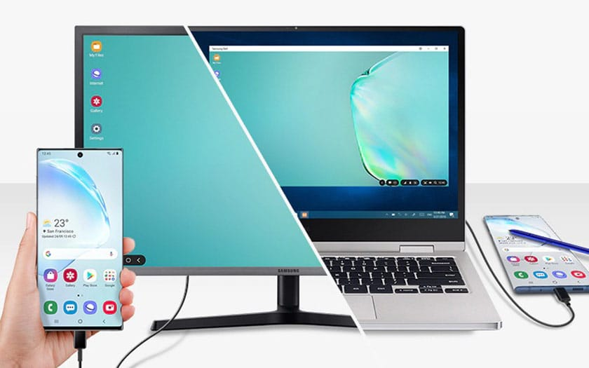 Samsung chuẩn bị DexBook, một màn hình di động để biến điện thoại thông minh của bạn thành PC 4