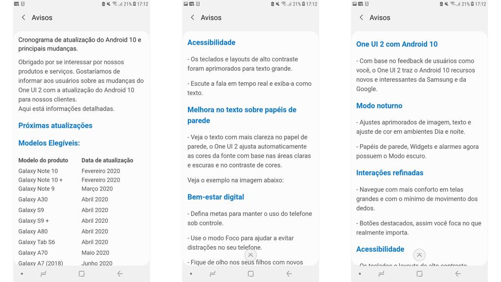 Samsung tiết lộ danh sách điện thoại và máy tính bảng sẽ nhận Android 10 ở Brazil 4