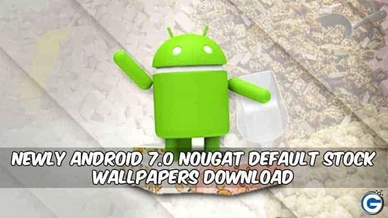 Tải xuống Full HD Android Nougat Hình nền chứng khoán trong tệp Zip 4