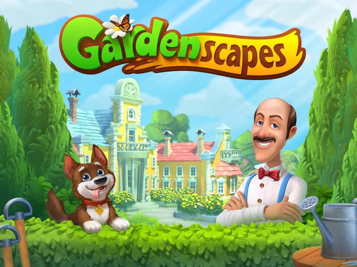Tải xuống Gardenscapes trên PC 1