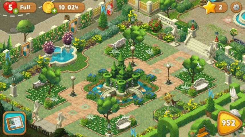 Tải xuống Gardenscapes trên PC 2