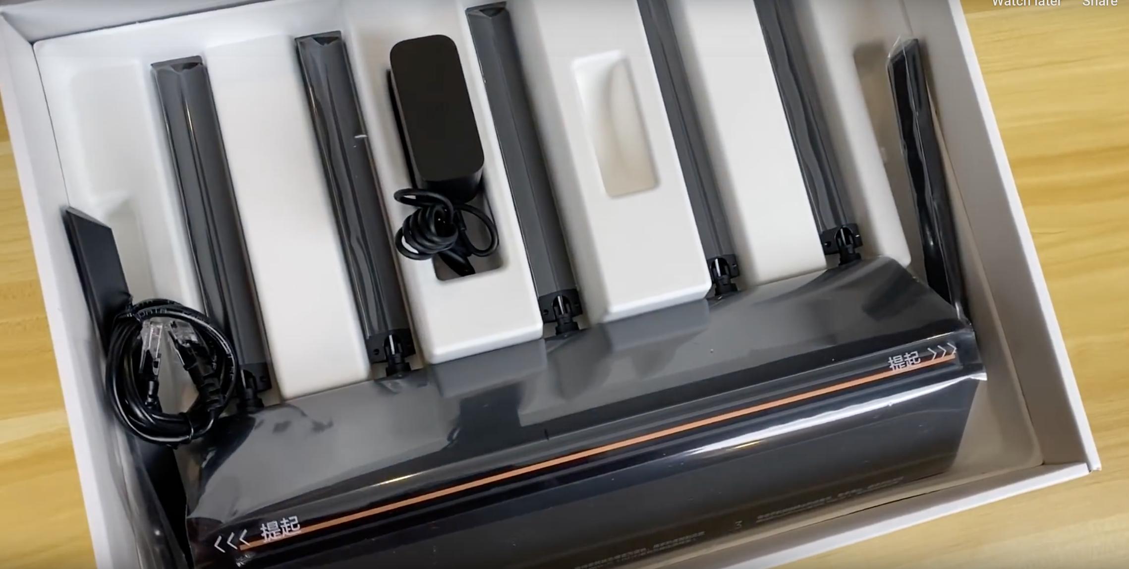 Xiaomi AIoT AX3600 WIFI 6 Đánh giá bộ định tuyến: Flagship không dây mới nhất 7Thiết kế -Antenna 2