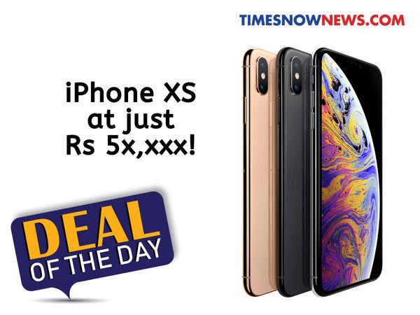 iPhone XS với mức giảm giá 34.900 Rupee có sẵn trực tuyến 3