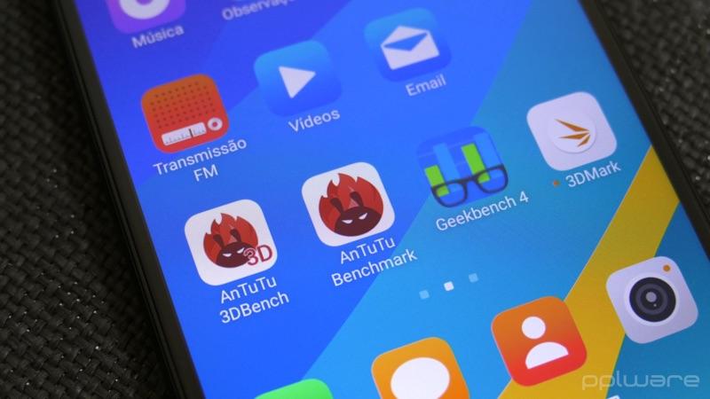 Ứng dụng Antutu Benchmark được lấy từ Google Play Store