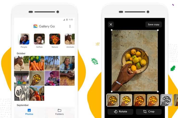 Ứng dụng Google Gallery Go là gì?
