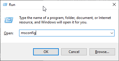 Mở Windows Hộp 10 CHẠY