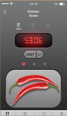 ứng dụng quy mô nhà bếp kỹ thuật số 1