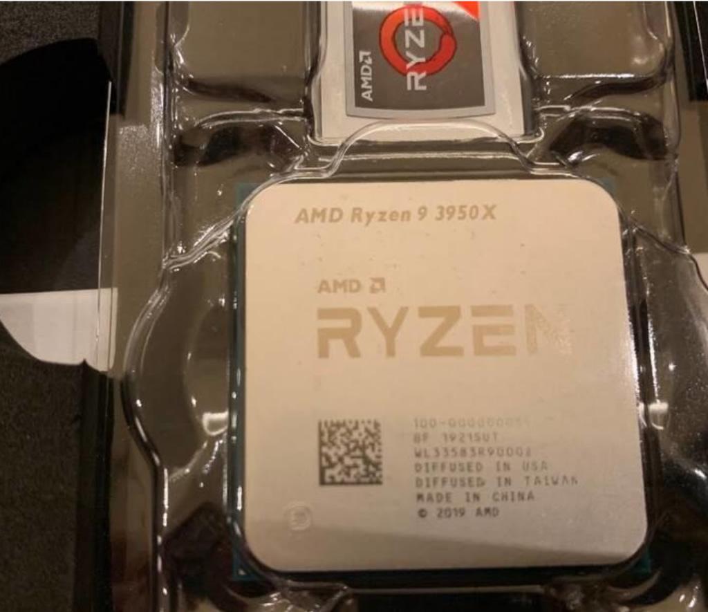 """AMD Ryzen 9 3950X có vẻ """"từ Nga với tình yêu"""""""