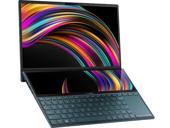 ASUS ra mắt máy tính xách tay màn hình kép ZenBook Duo UX481