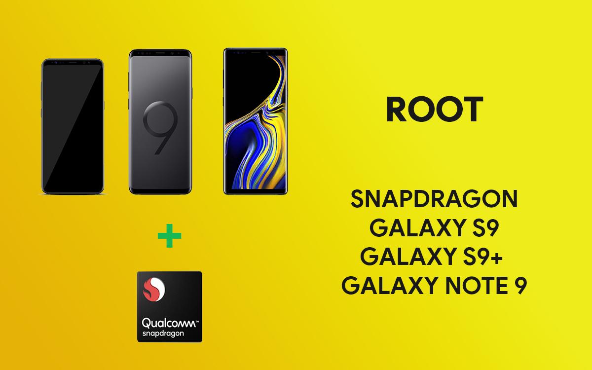 Cách nhận quyền truy cập root trong phiên bản Snapdragon của Galaxy S9, S9 + ...
