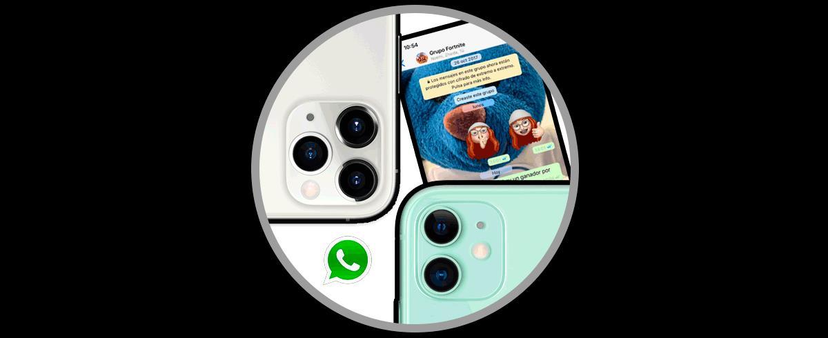 Cách thay đổi hình nền WhatsApp từ iPhone 11iPhone 11 Pro hoặc ...