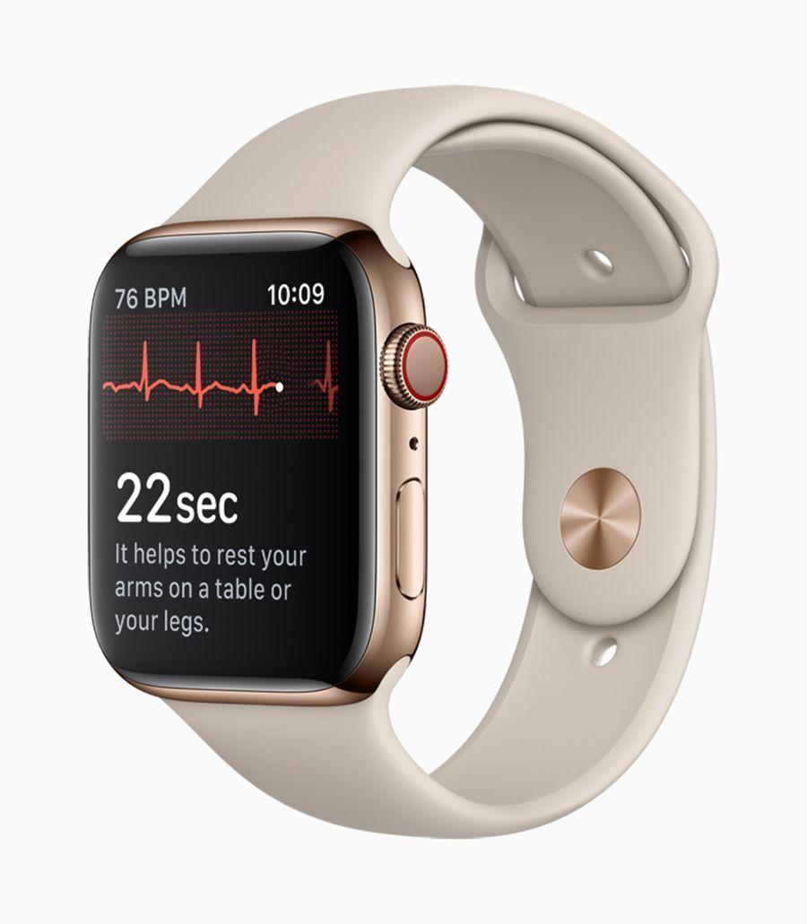 Cái gì Apple Watch Bộ truyện 4 Cứu một cuộc sống khác một lần nữa