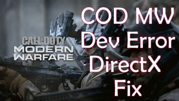 Cách khắc phục Dev Error 6068, 6065 trong COD Modern Warfare. [ 2019] 4