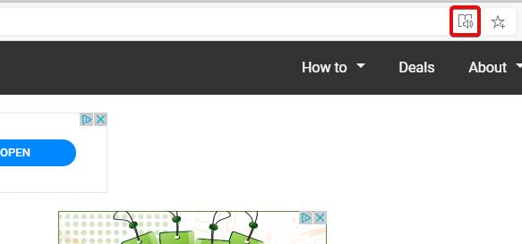 Cách sử dụng công cụ đọc trong Microsoft Edge 1