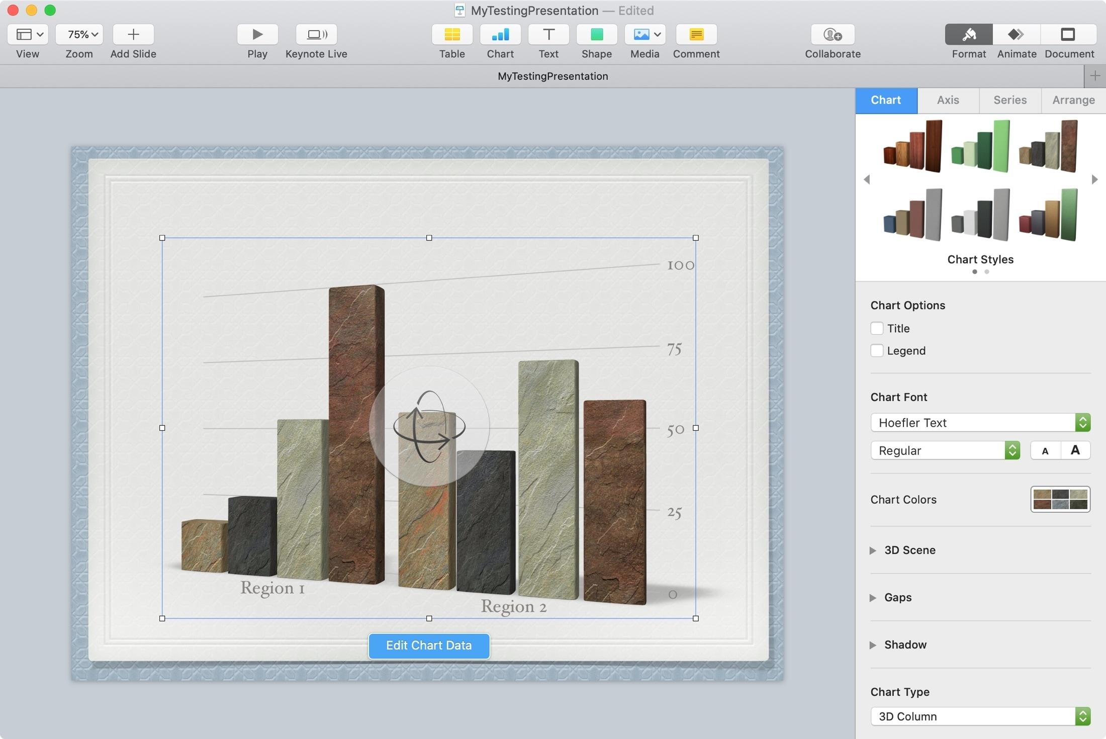 Tab Keynote Mac Tab