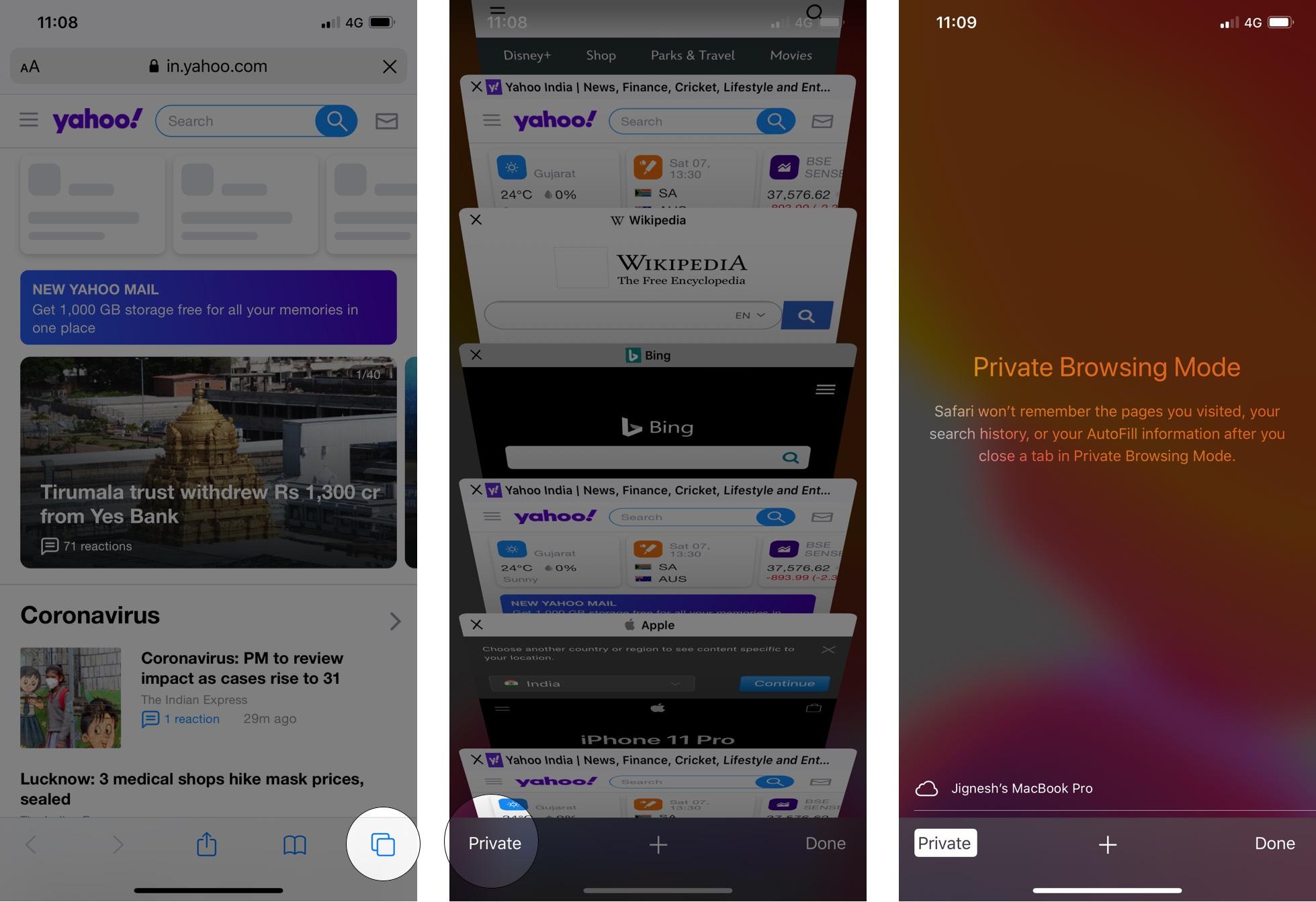 Cách vô hiệu hóa vĩnh viễn Chế độ duyệt web riêng tư trong iOS 13 4