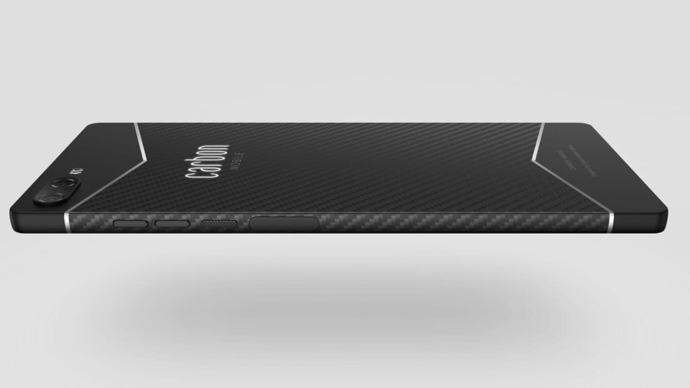 Carbon 1 Mark II - điện thoại thông minh sợi carbon đầu tiên trên thế giới 3