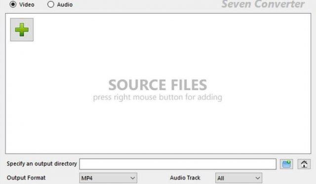 Chuyển đổi tập tin âm thanh và video theo đợt với Seven Converter 2