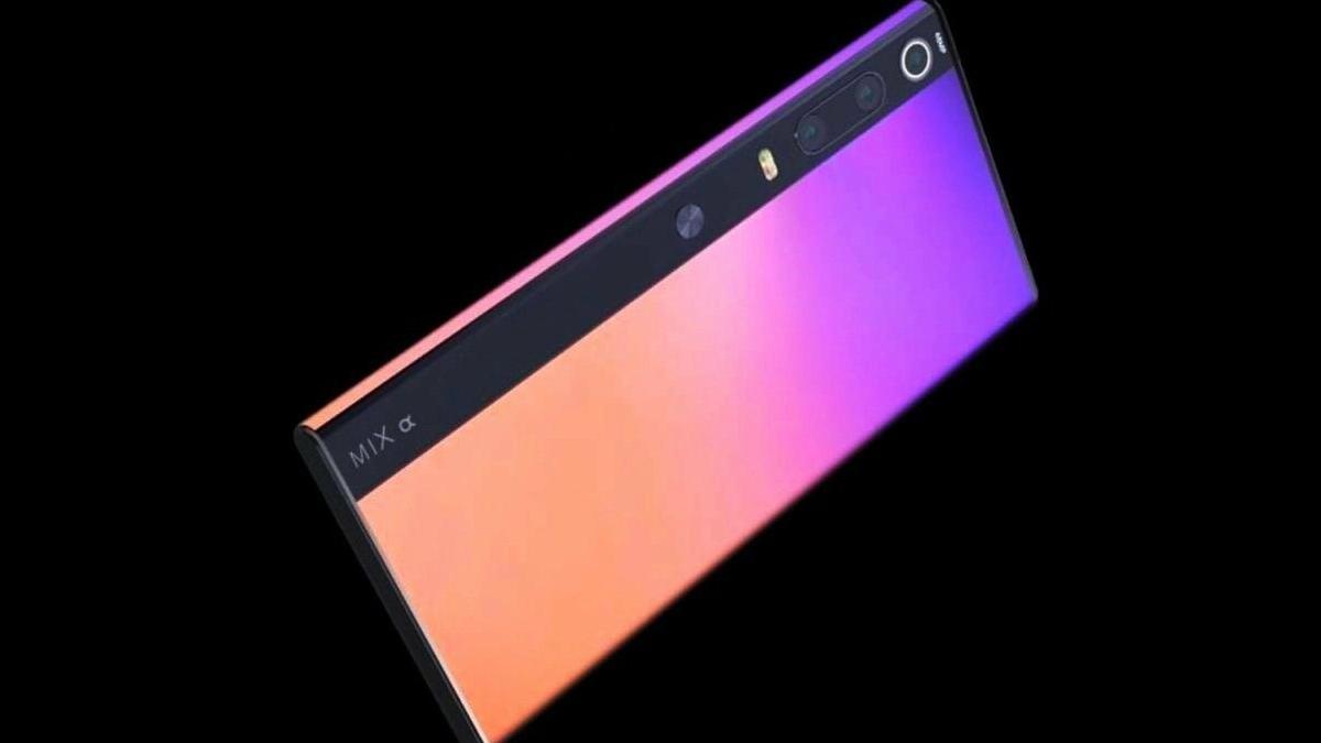 Dòng Xiaomi Mi MIX Alpha có thể đi kèm với camera với ...