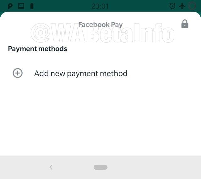 Facebook Pay sẽ là tên thanh toán WhatsApp