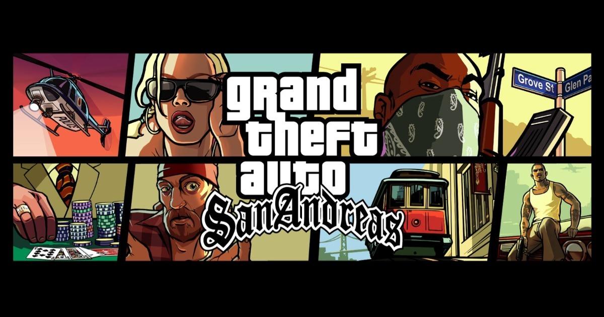 GTA San Andreas lừa đảo cho PS2: có được một chiếc xe hơi, cuộc sống không giới hạn, tiền bạc và ...