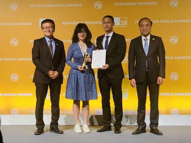 Giải thưởng tác động bền vững Huawei Scoops 2019 tại ITU