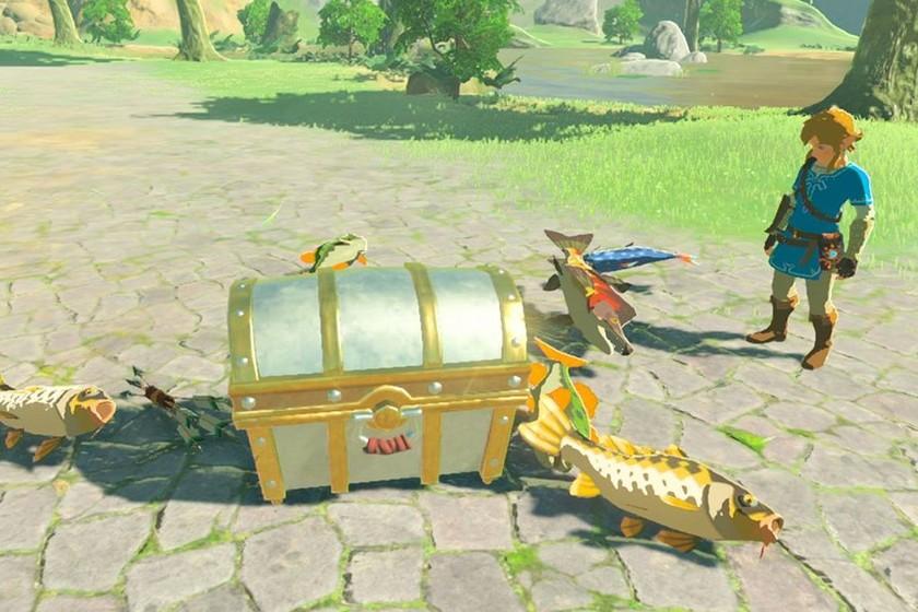 Huýt sáo không ngừng: đây là cách tốt nhất để câu cá The Legend of Zelda: ...