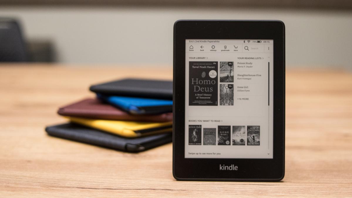 Kindle Paperwhite và Oasis với giá thấp nhất Amazon Ngày một
