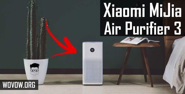 Máy lọc không khí Xiaomi MiJia 3 ĐÁNH GIÁ đầu tiên: Đây là một cải tiến được cải thiện!