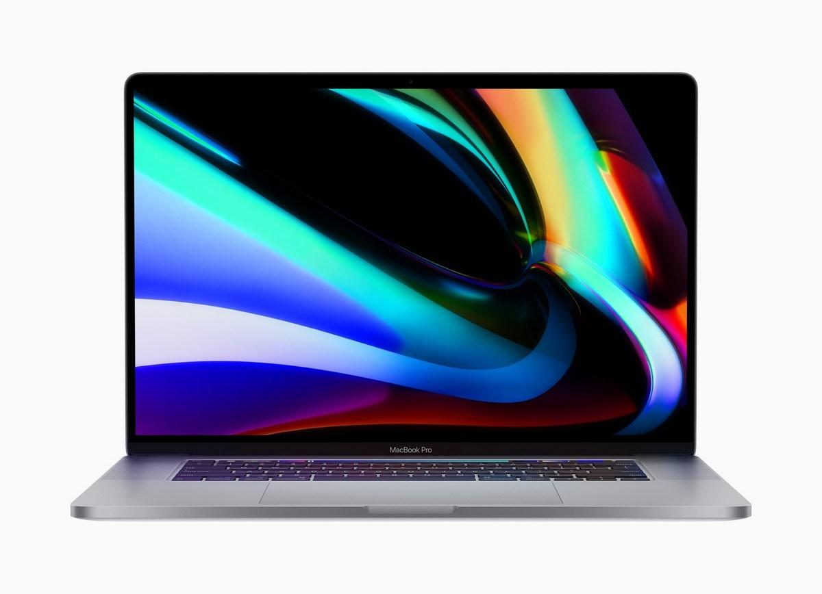 MacBook Pro 16- Chi tiết có thể sử dụng màn hình LED mini vào năm tới